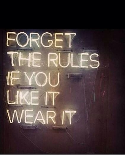 Forget the Rules