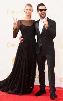 Adam Levine & Behati Prinsloo Levine (Prada)