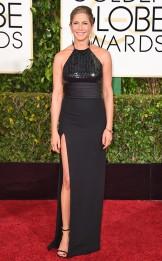 Jennifer Aniston in Saint Laurent