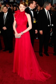 Emma Stone in Giambattista Valli 2012