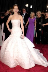 Jennifer Lawrence in Dior 2013