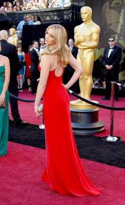 Jennifer Lawrence in Calvin Klein 2011