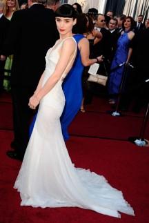 Rooney Mara in Givenchy 2012