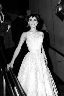 Audrey Hepburn in Givenchy 1953
