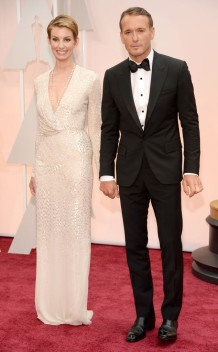Faith Hill in J. Mendel and Tim McGraw in Lanvin